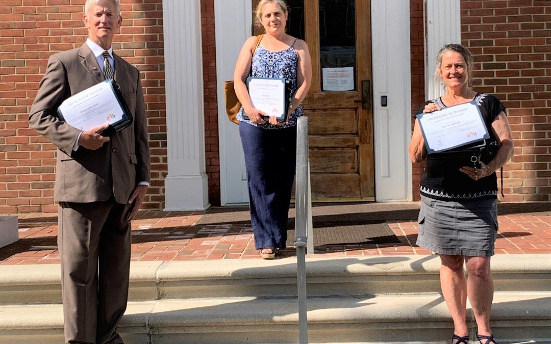 CASA Volunteers Sworn in During Stay-At-Home Orders