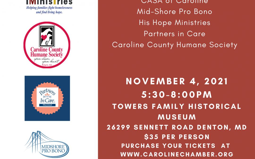 Caroline Chamber's Nonprofit Network Dinner